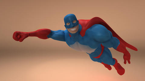superhero animated 2 Animation