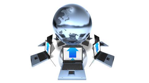 world laptop b HD Stock Video Footage