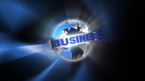world business Animation