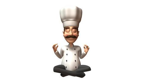 zen chef Stock Video Footage