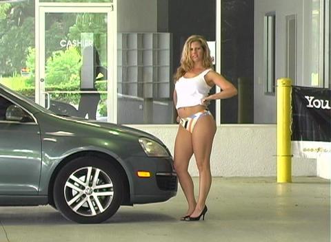 Sexy Mechanic (5) Stock Video Footage