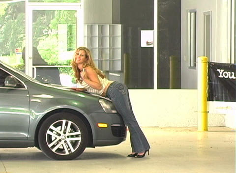 Sexy Mechanic (7) Stock Video Footage