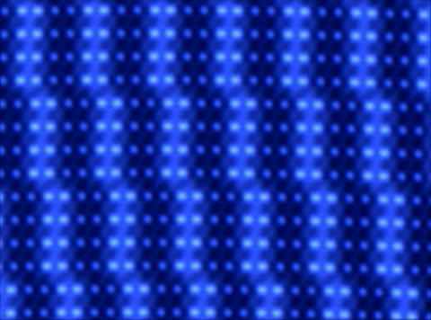 Blue Lights trace L Stock Video Footage