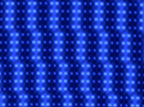 Blue Lights trace L Animation