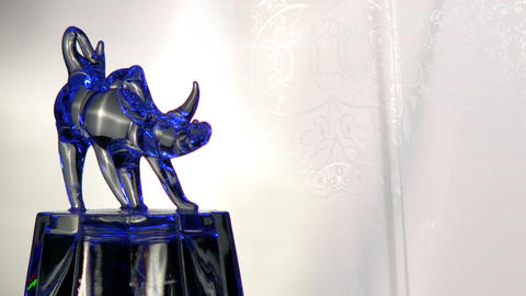 Bull ornaments Stock Video Footage