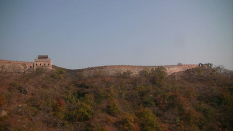Great wall of china Stock Video Footage