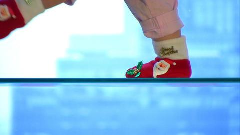 Christmas socks Stock Video Footage