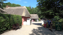 Bunratty Folkpark 4 Stock Video Footage