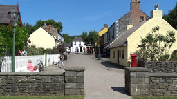 Bunratty Folkpark 5 Stock Video Footage