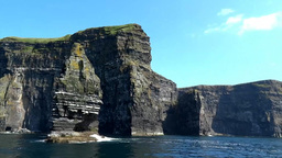 Cliffs of Moher 2 Stock Video Footage