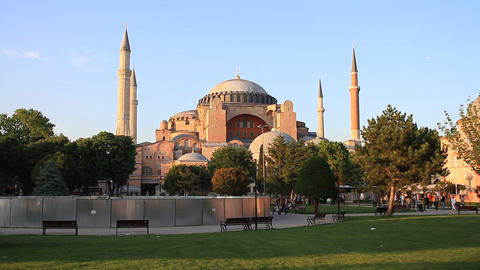 Hagia Sophia Stock Video Footage