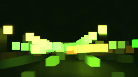 highway abstract light 02 Stock Video Footage