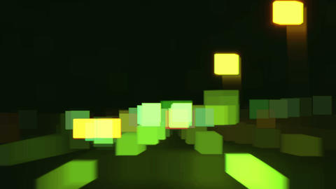 highway abstract light 02 Footage