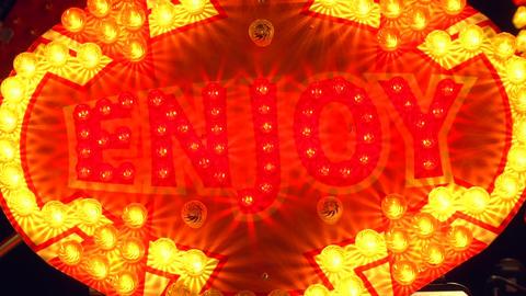 light decoration enjoy Stock Video Footage