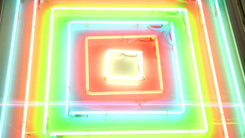 light neon 05 Stock Video Footage