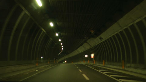 tunnel timelapse 02 Stock Video Footage