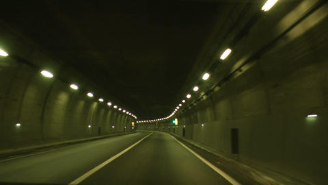 tunnel timelapse 02 Footage
