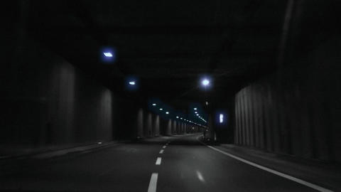 tunnel timelapse 04 Stock Video Footage