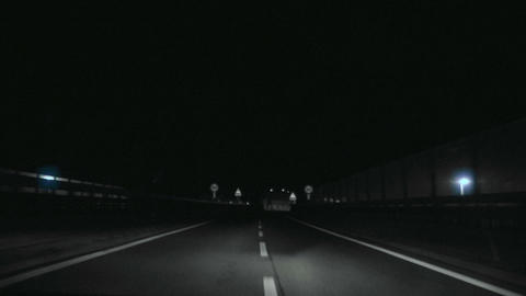 tunnel timelapse 06 Stock Video Footage