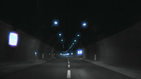 tunnel timelapse 06 Footage