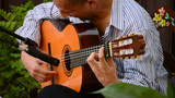 Flamenco Guitar In Action stock footage