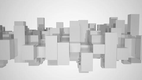 Gray and white equalizer bars Stock Video Footage