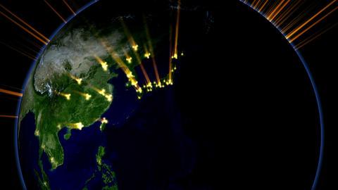 Light Globe 06 USA Stock Video Footage