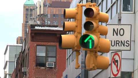 Traffic light Footage