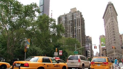 NYC 211Flatiron Building Footage
