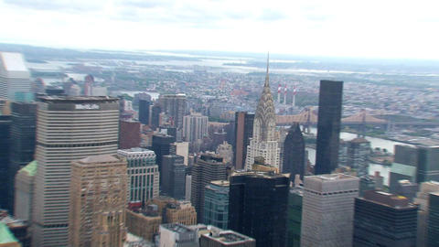 NYC 215chrysler Building stock footage