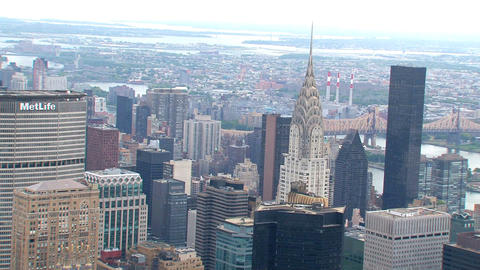 NYC 215chrysler building Stock Video Footage