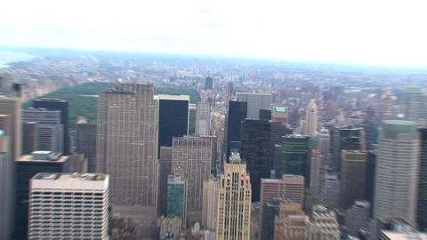 NYC 221top Of The Empire State stock footage