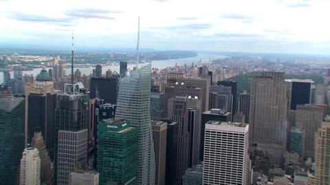 NYC zoom in Stock Video Footage