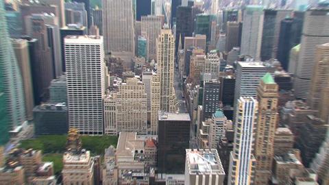 City street Stock Video Footage
