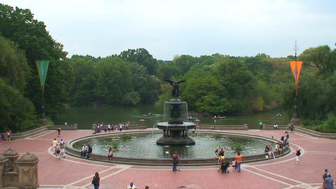 Fountain Central Park Footage