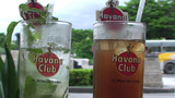 Mojito and Cubalibre glass Footage