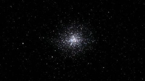 Star cluster seamless loop Stock Video Footage