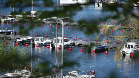 boats Stock Video Footage