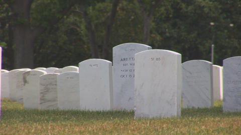 Arlington National Cemetery Footage