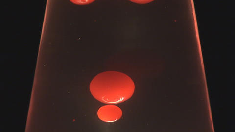 Lava lamp Stock Video Footage