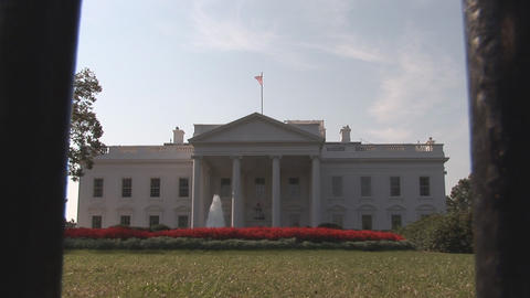 The White House in Washington, DC Footage