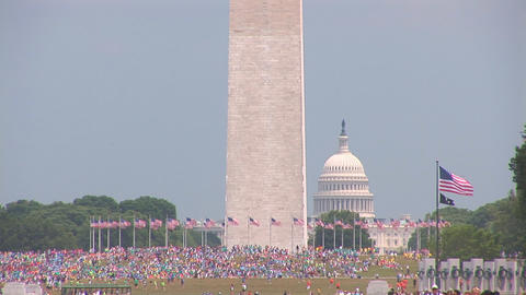 Washington Monument Stock Video Footage