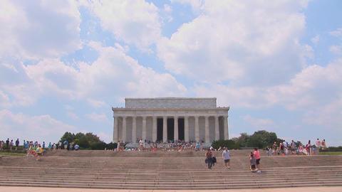 Lincoln Memorial Footage