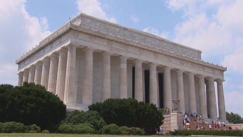 Lincoln Memorial Stock Video Footage