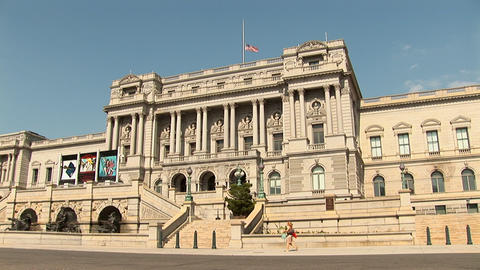 Library of Congress Stock Video Footage