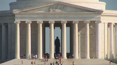 Thomas Jefferson Memorial Footage