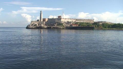 Castillo de Los Tres Santos Reyes Magnos del Morro Footage