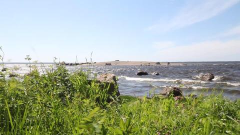 coast of the Baltic Sea Stock Video Footage