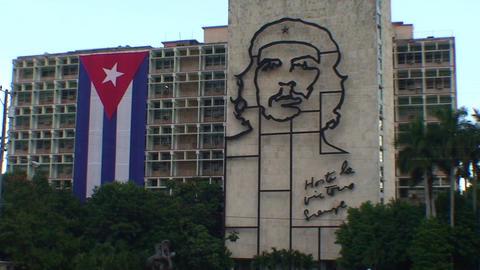 Plaza de la Revolución, Che Guevara Footage