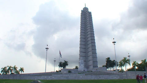 Plaza de la Revolución Stock Video Footage